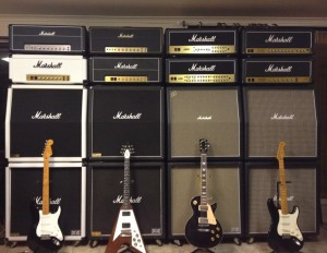 Big guitars.  Big Mix.