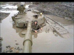 tank mud